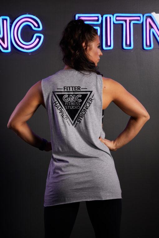 GNC long Vest back